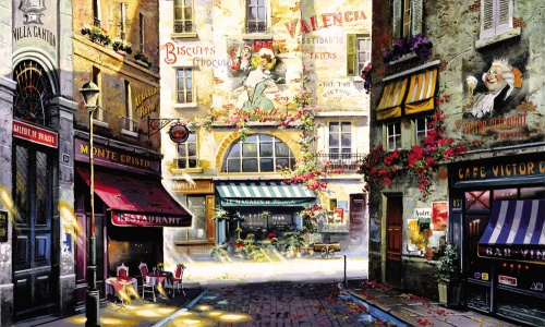 Ruben Bore, или Опять хочется в Париж (46 работ)