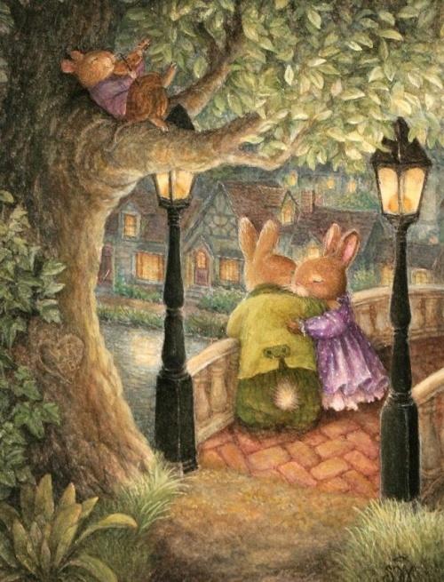 Детские иллюстрации от Susan Wheeler (16 работ)