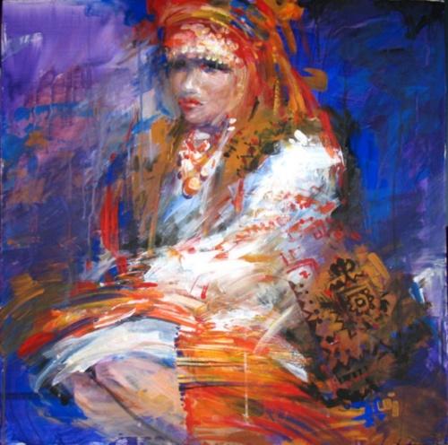 Художница Анна Хомчик (Украина) (27 работ)