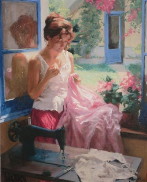 Художник Vicente Romero Redondo (14 работ)