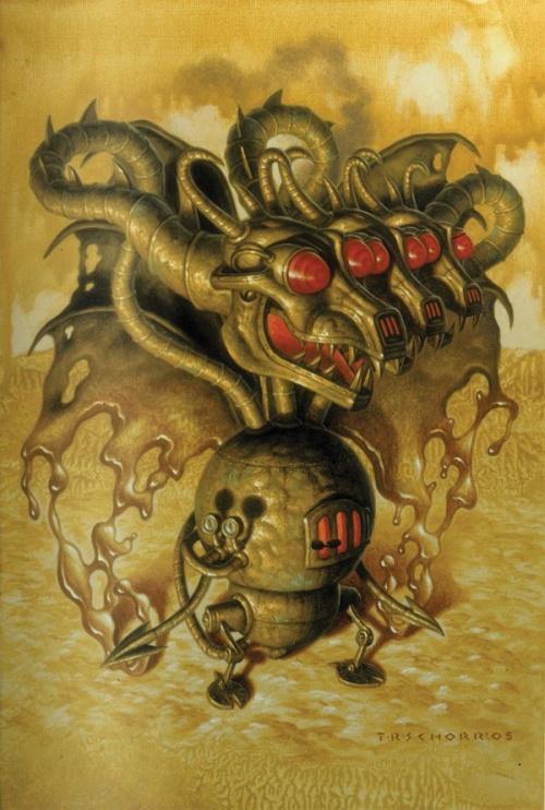 Американский художник Тод Шорр (Todd Schorr) (89 работ)