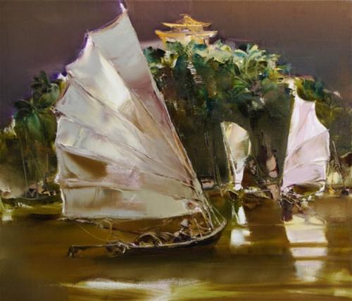 Валерий Блохин - русский художник, мастер цвета (79 работ)