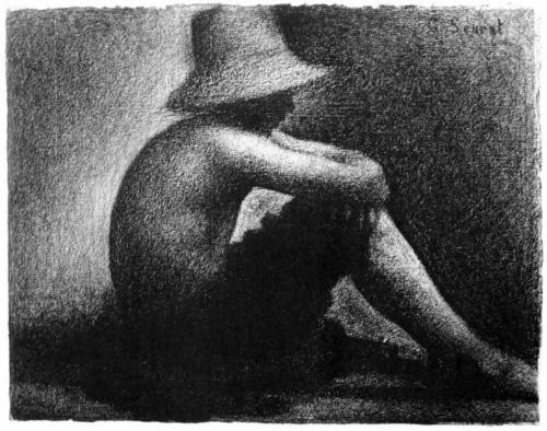 Шедевры импрессионизма. Жорж Сёра - рисунки (102 работ)