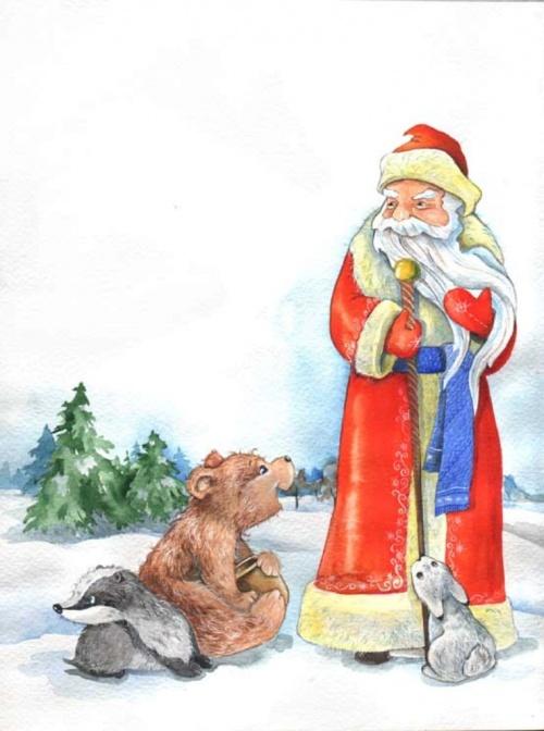 Иллюстрации к детским книгам от Остриковой Анастасии (52 работ)