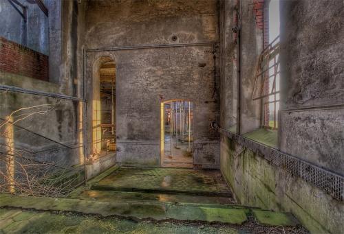 Industrial Старый заброшенный английский завод (31 фото)
