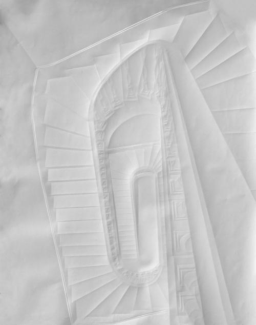 Картины из мятой бумаги. Simon Schubert (47 работ)