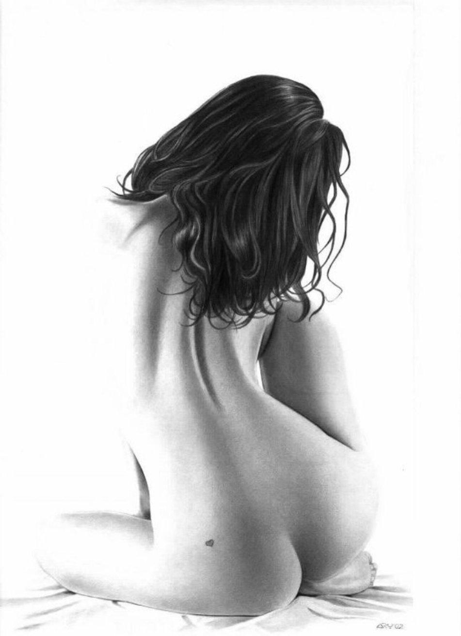 Эротическии рисунки голых женщин 19 фотография