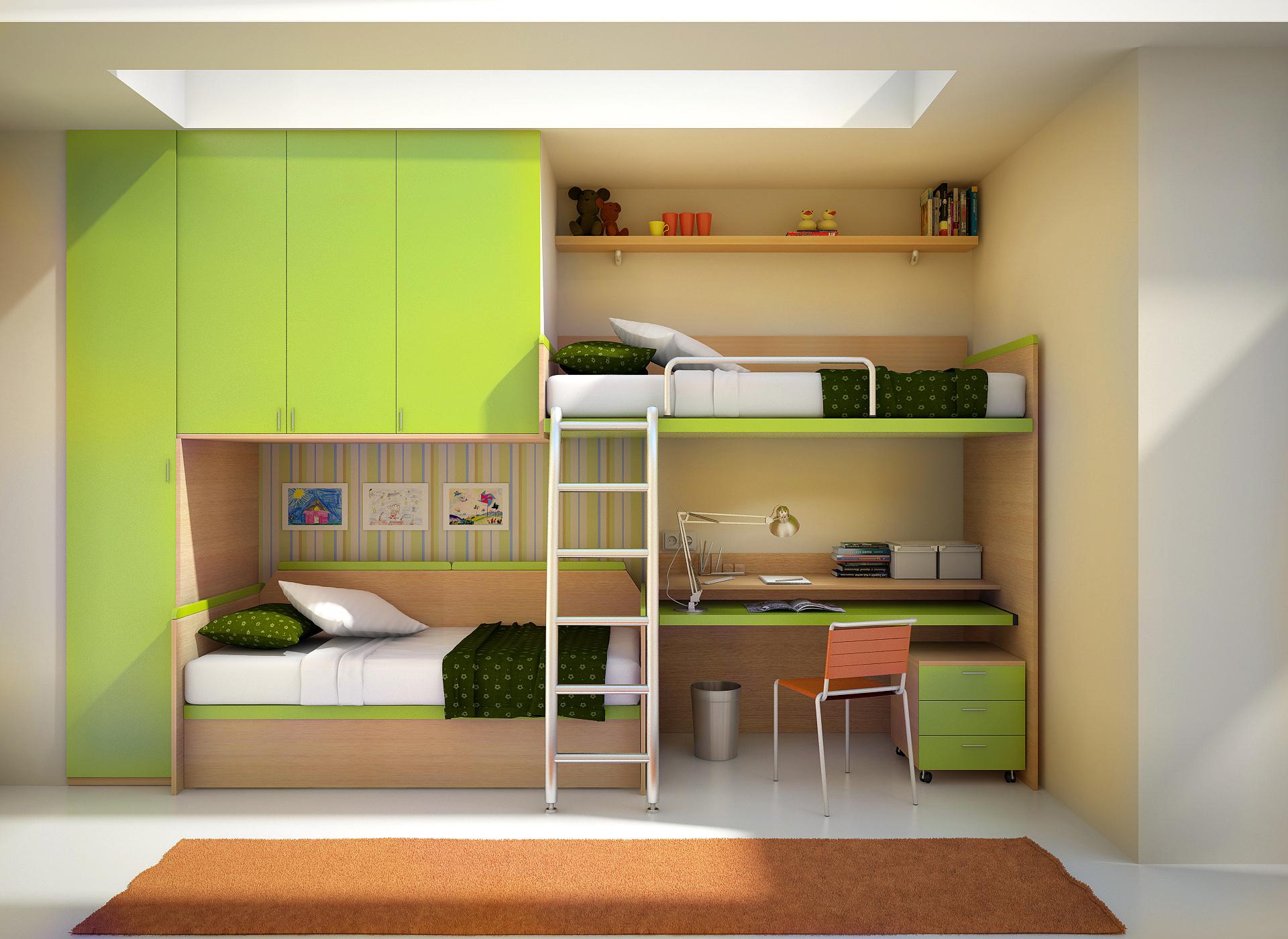 Малогабаритные детские комнаты фото