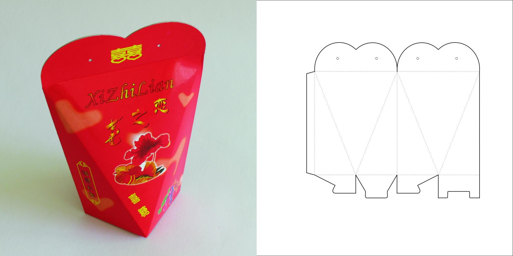 Подарок своими руками коробка конфета