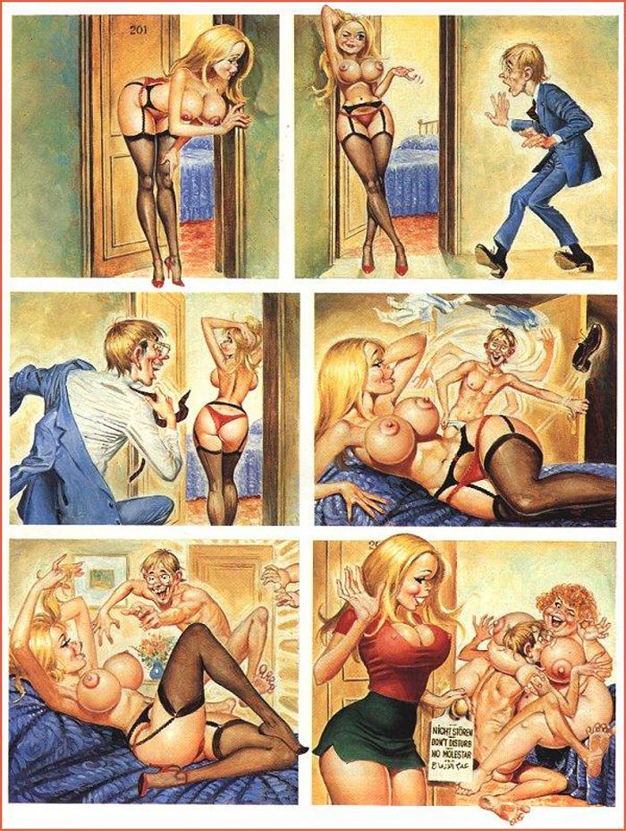 Комикс эротика