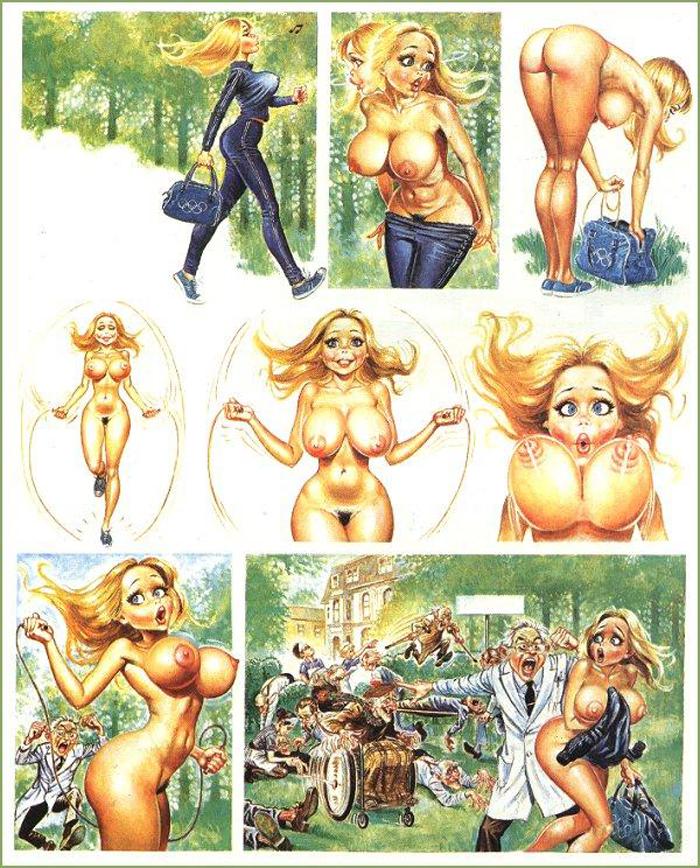 Комиксы рисованные эро