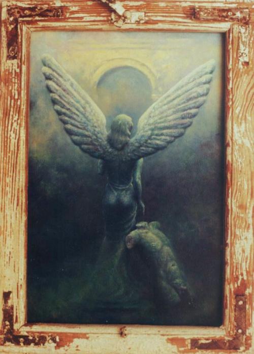 Творчество Dariusz Branski. Ангелы (37 работ)