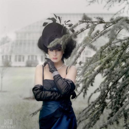 Госпожа Фетиш - Дита фон Тиз (101 фото) (эротика)