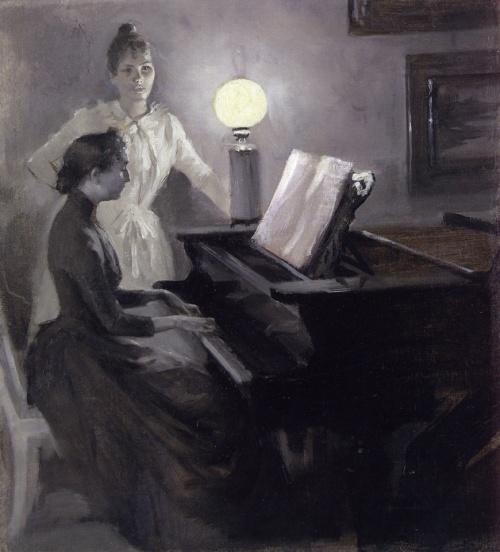 Albert Gustav Aristides Edelfelt (1854-1905) (109 работ)