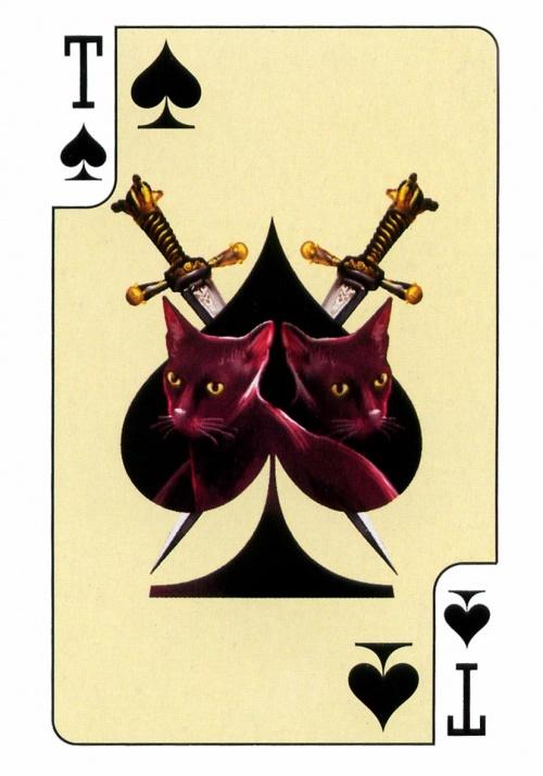 Веселые карты - Кошки (18 работ)