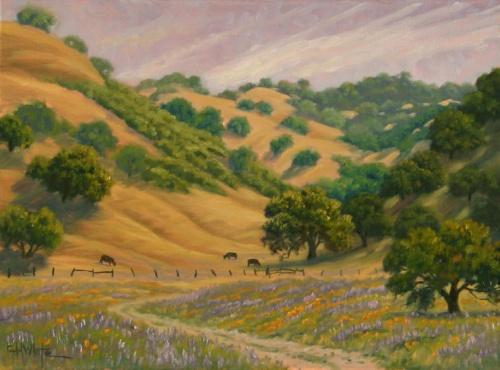 Пейзажи художника Charles H. White (77 работ)