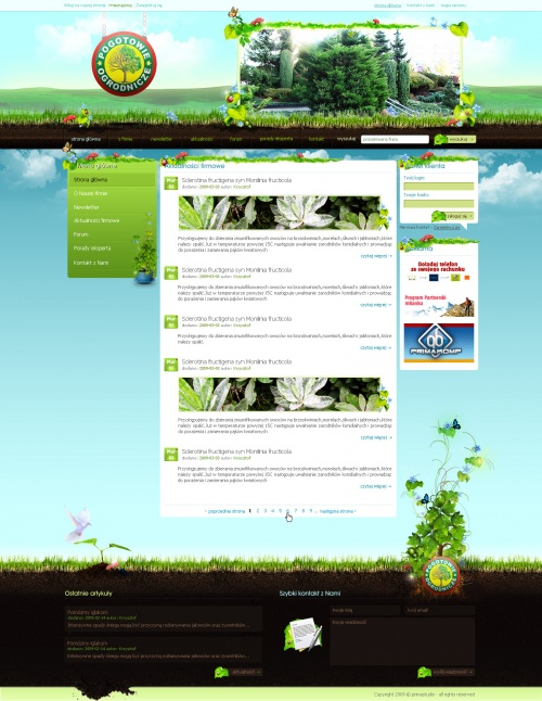 Работы дня deviantART. Designs & Interfaces. Март 2009 (56 работ)