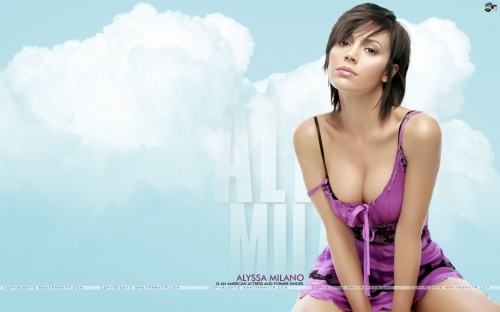 Alyssa Milano Glamour Wallpapers (124 фото)