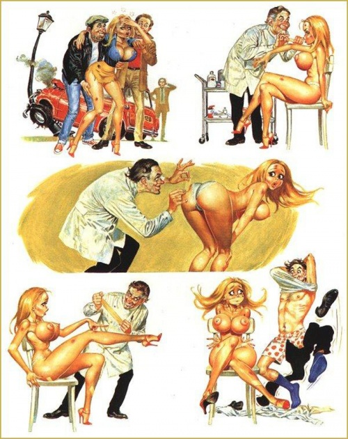 комиксы рисунки эро