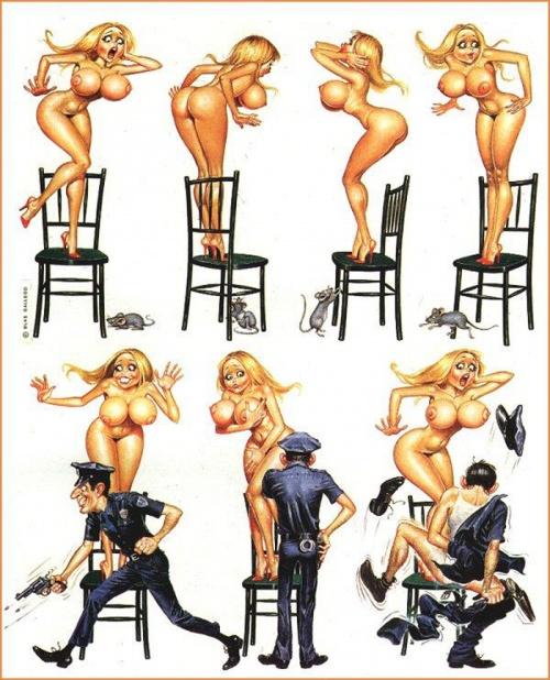 эро рисунки комиксы