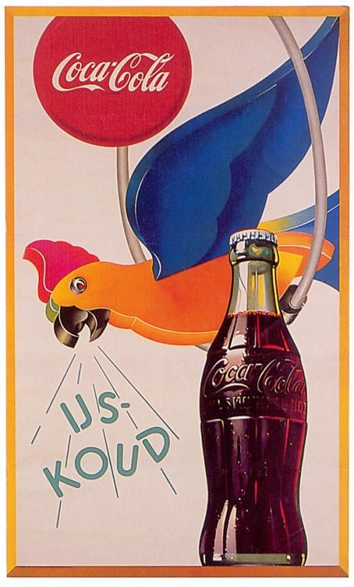 Retro реклама Coca-cola (25 работ)