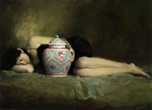 Живопись Китая. Huang Zhong Yang (31 работ)