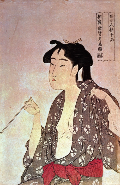 Китагава Утамаро (Kitagawa Utamaro) - японский художник (56 работ)