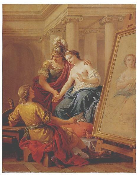 Louis Jean Francois Lagrenee (1725-1805) (17 работ)