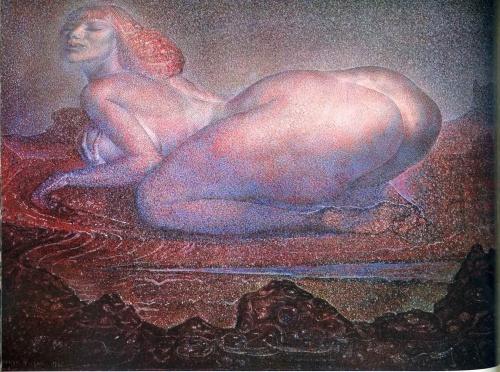 Fuchs, Ernst. австрийский художник (98 работ)