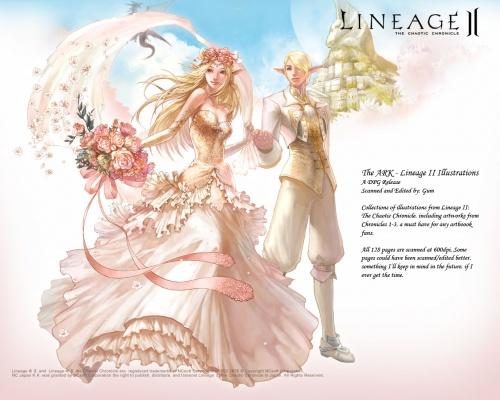 Lineage II. Art Gallery (27 работ)