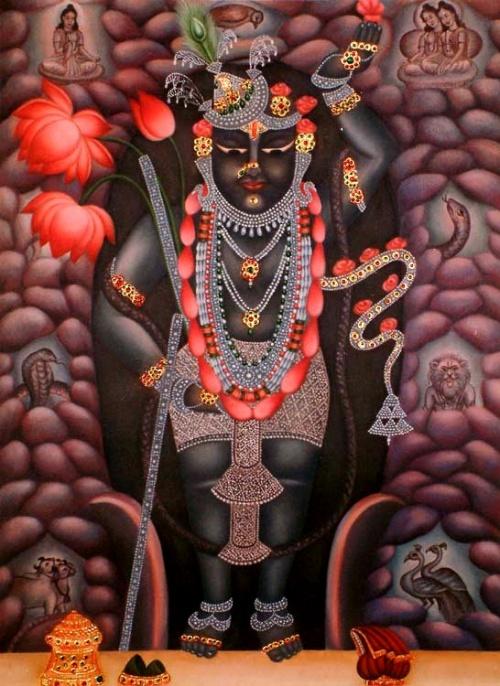 Живопись Индии. Giri Raj Sharma (34 работ)
