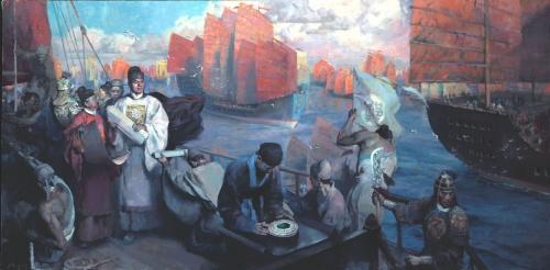 Художник HongNian Zhang (100 работ)