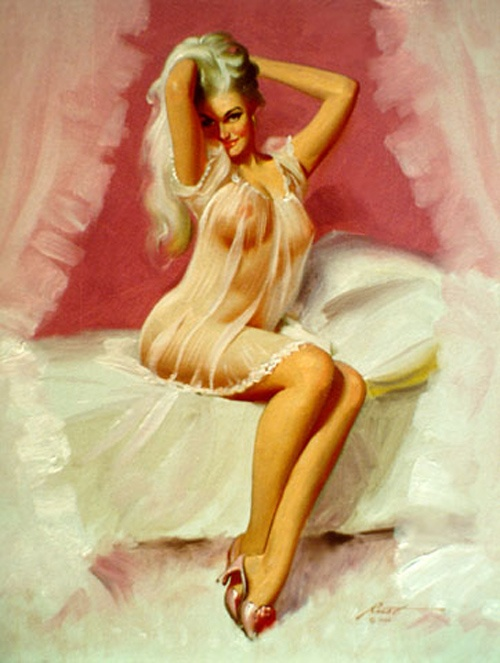 History Pin-Up. Donald Rust (36 работ)