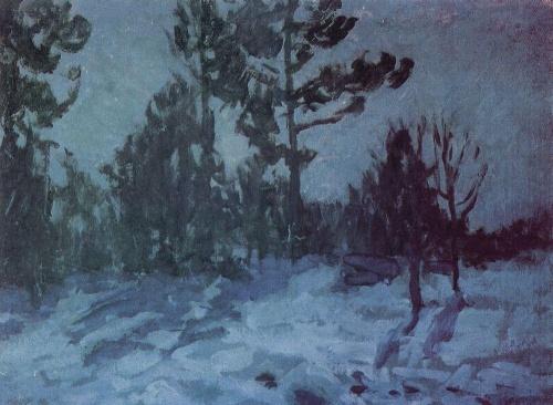 Коровин Константин Алексеевич (1861-1939) - Русская живопись (300 работ)
