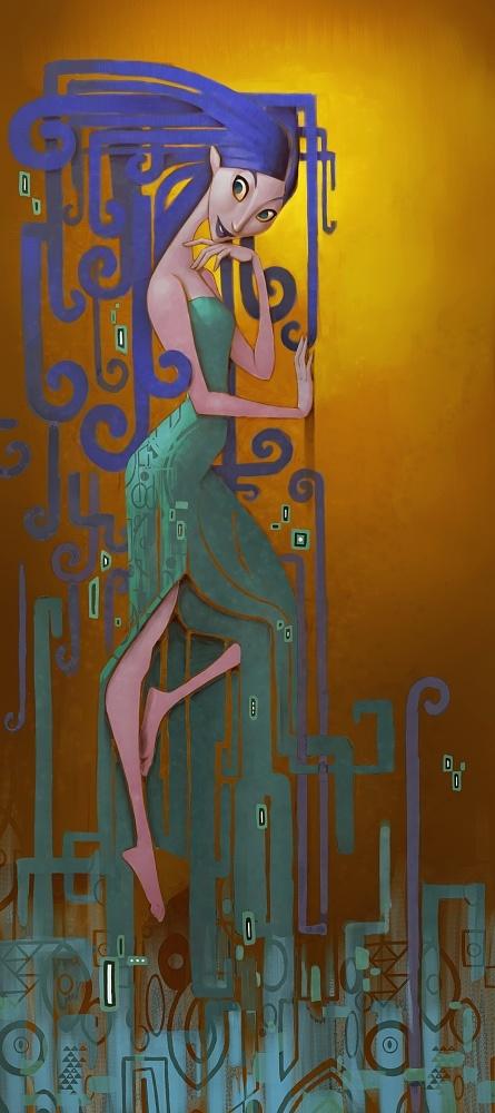 Рисунки художника Sam Nielson (70 работ)