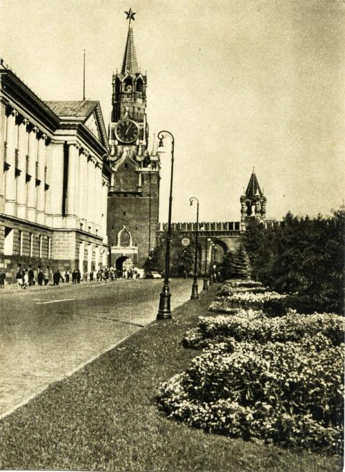 Открытки с видами Москвы 1980 года выпуска и Московский кремль(чёрно-белые) (18 открыток)