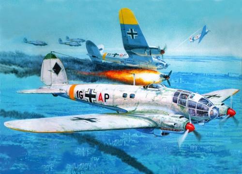 Рисунки военных самолетов (32 работ)