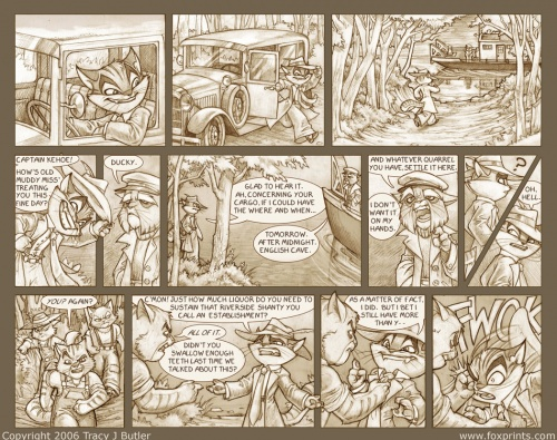 Кошачьи истории от художницы Tracy J Butler (96 работ) (2 часть)