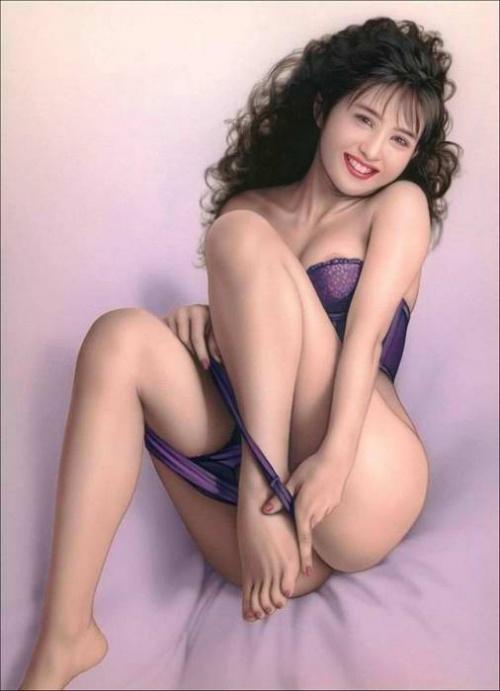 Эротичные рисованные девушки (161 работ)