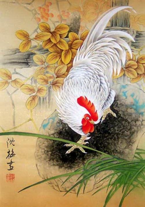 Китайская живопись. Shen Mei (32 работ)