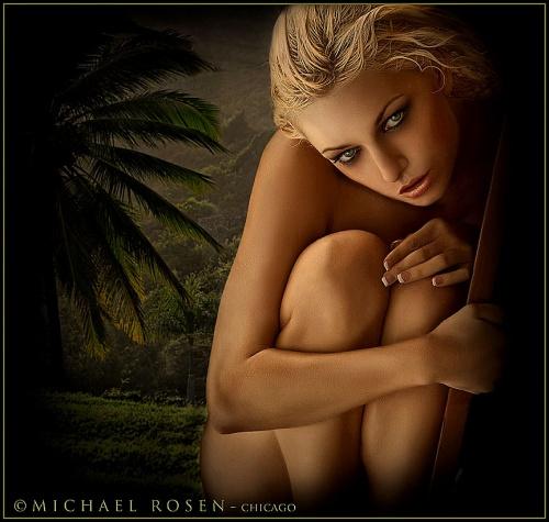 Креативные фотографии девушек от Michael Rosen (49 фото) (эротика)