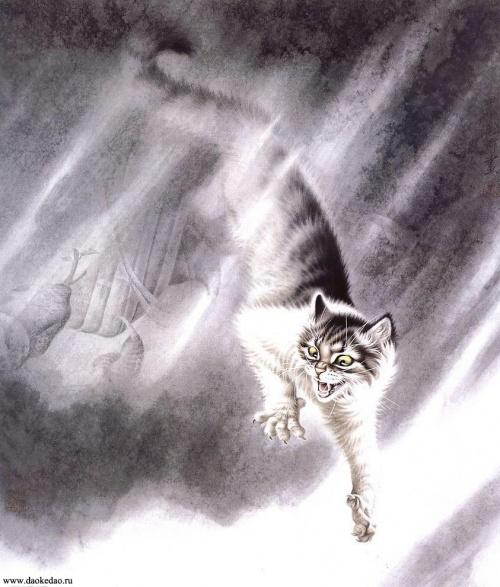 Кошачий калейдоскоп - 13 (42 работ)