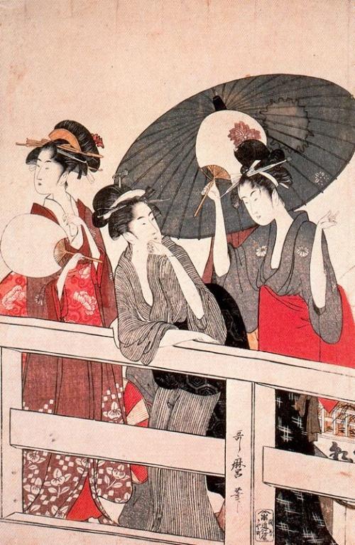 Утамаро Китагава (1753–1806) Utamaro Kitagawa. Часть 2 (59 работ)