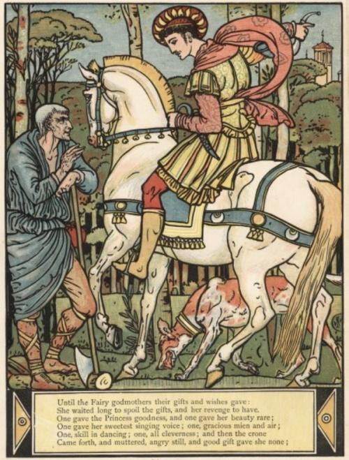 Иллюстрации Уолтера Крейна (Walter Crane) (114 работ)