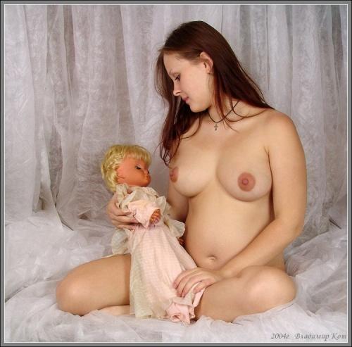 фото голых кормящих мам