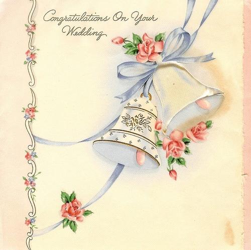Свадебные винтажные открытки (84 работ)