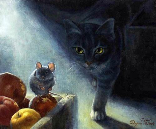 Кошачий калейдоскоп - 14 (44 работ)