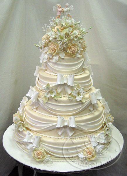 Свадебные торты 68 фото картины