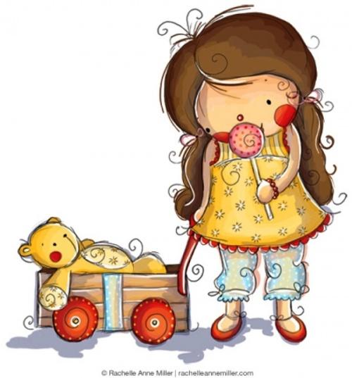Детский иллюстратор Rachelle Anne Miller (68 работ)