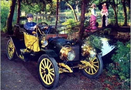 Старинные авто (107 работ)